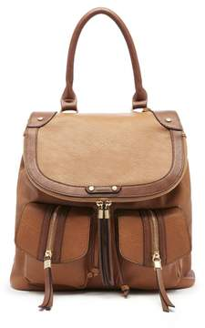Sole Society Happy Faux Leather Backpack