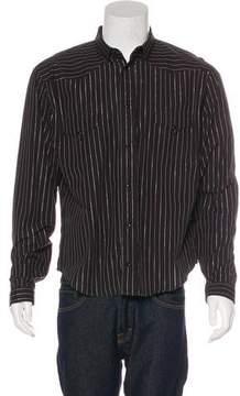 Christian Dior Metallic Striped Shirt