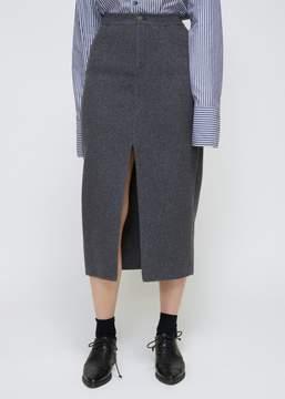 Dusan Double Front Slit Skirt