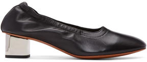 Robert Clergerie Black Poket Heels