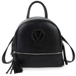 Mario Valentino Xavier Leather Backpack
