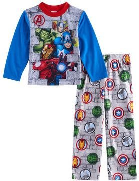 Marvel Boys 4-10 Avengers 2-Piece Pajama Set