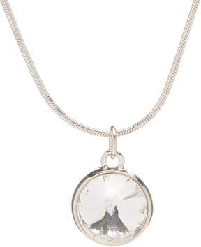 Carole Crystal Slider Pendant Necklace