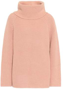 Chloé Knitted wool turtleneck sweater