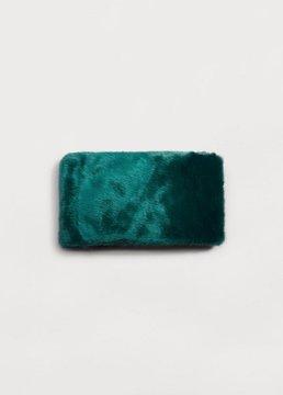 Violeta BY MANGO Faux fur scarf