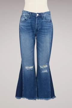 3x1 3 X 1 Higher Ground Gusset Crop Jean