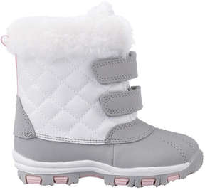 Joe Fresh Baby Girls' Snow Boots, Off White (Size 4)