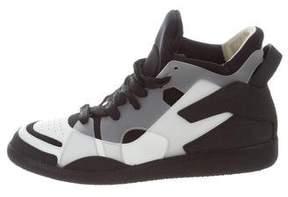 Maison Margiela Neoprene High-Top Sneakers