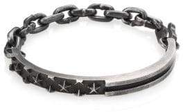 King Baby Studio Sterling Silver Star Engraved Bracelet