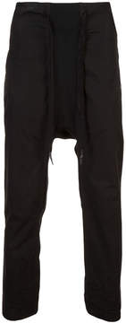 11 By Boris Bidjan Saberi drop crotch pants