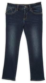 Armani Junior Little Boy's & Boy's 5-Pocket Faded Jeans