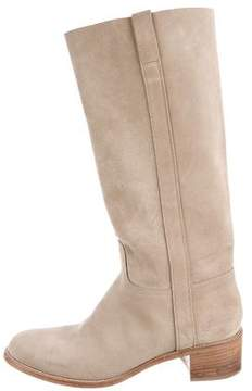 Sartore Suede Knee-High Boots