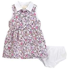Kate Spade floral print shirtdress & bloomer set (Baby Girls)