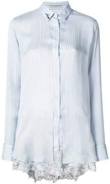 Ermanno Scervino lace hem shirt