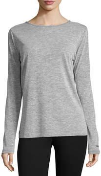 Columbia Co. Long Sleeve Crew Neck T-Shirt-Womens