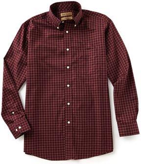 Roundtree & Yorke Gold Label Non Iron Long-Sleeve Tattersol Sportshirt