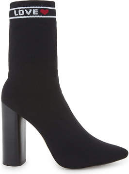 Aldo Ladies Black Classic Lovelyy Sock Boots