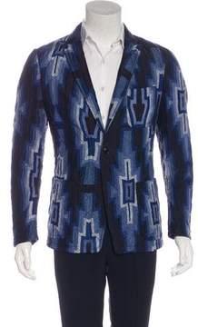 Dries Van Noten Silk-Blend Quilted Jacket