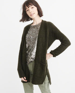 Abercrombie & Fitch Dolman Sleeve Cardigan