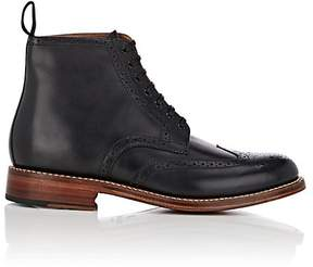 Grenson MEN'S ALFRED WINGTIP LACE-UP BOOTS