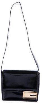 Gucci Spazzolato Shoulder Bag - BLACK - STYLE