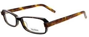 Vera Wang V 300 To 52 Tortoise Full Rim Rectangular Optical Frame.