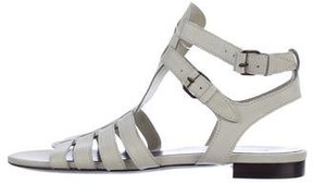 Balenciaga Leather Multistrap Sandals