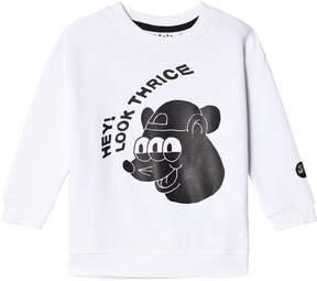 Molo White Murphy Sweatshirt