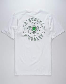 Hurley Irisher White Mens T-Shirt