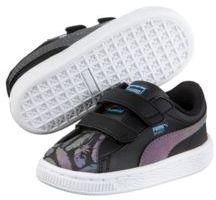 Puma Basket Swan Preschool Sneakers