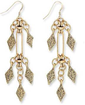 Alex and Ani Spear Earrings