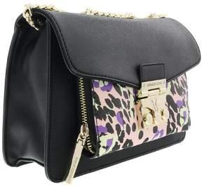 Versace EE1VRBBS5 Black/Purple Shoulder Bag