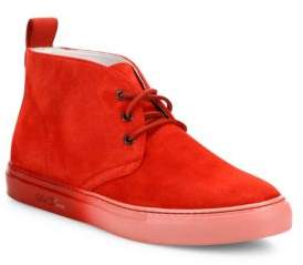 Del Toro Faded Sole Suede Hi-Top Sneakers