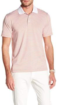 Brooks Brothers Feeder Striped Golf Polo
