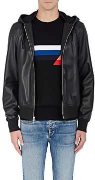 Rag & Bone Men's Christopher Leather Hooded Bomber Jacket