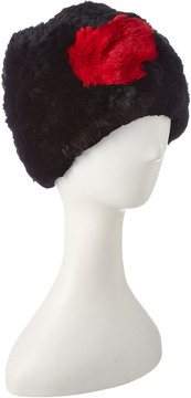 Jocelyn Black Knitted Hat