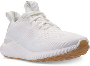adidas Women's AlphaBounce Em Un-Dyed Running Shoes from Finish Line