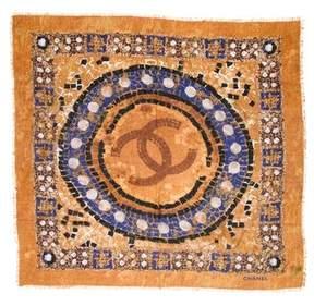 Chanel Mosaic Cashmere Scarf