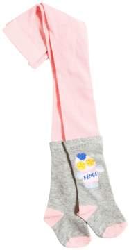 Fendi Piruchan Knitted Cotton Tights