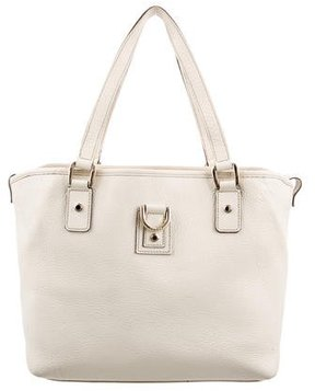 Gucci Leather Abbey Tote - NEUTRALS - STYLE