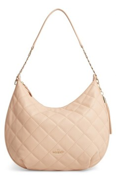 Kate Spade Emerson Place - Tamsin Leather Hobo - Beige - BEIGE - STYLE