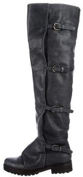 Henry Beguelin Leather Over-The-Knee Boots