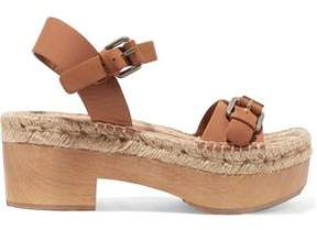 Paloma Barceló Felipa Textured-Leather Sandals