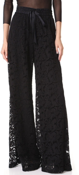 ADAM by Adam Lippes Wide Leg Drawstring Pants