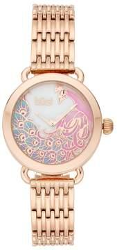 Burgi Women's Peacock Watch