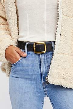 Free People Downtown Leather Belt