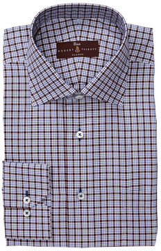 Robert Talbott Classic Fit Windowpane Dress Shirt