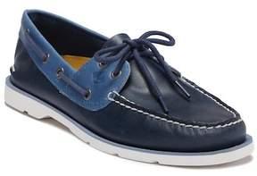 Sperry Leeward 2-Eye Leather Nautical Boat Shoe