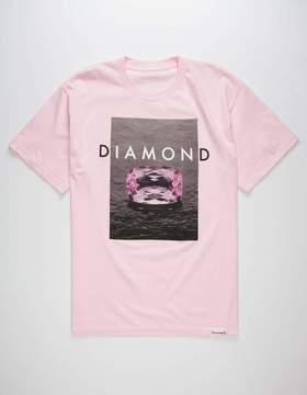 Diamond Supply Co. Pink Spectrum Mens T-Shirt