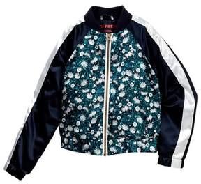 Joe Fresh Floral Bomber Jacket (Big Girls)